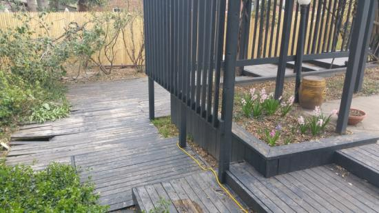 carpenter services deck before carpentry