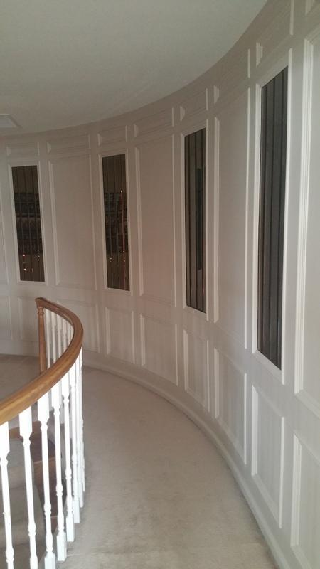 interior painting service hallway after