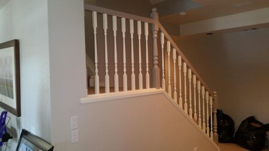 residential interior painting service drywall after