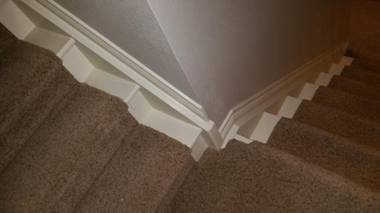residential interior painting service trim after