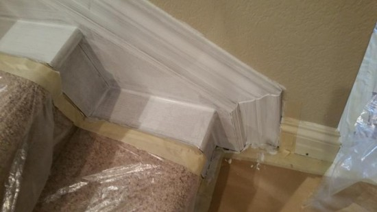 residential interior painting service trim mid production