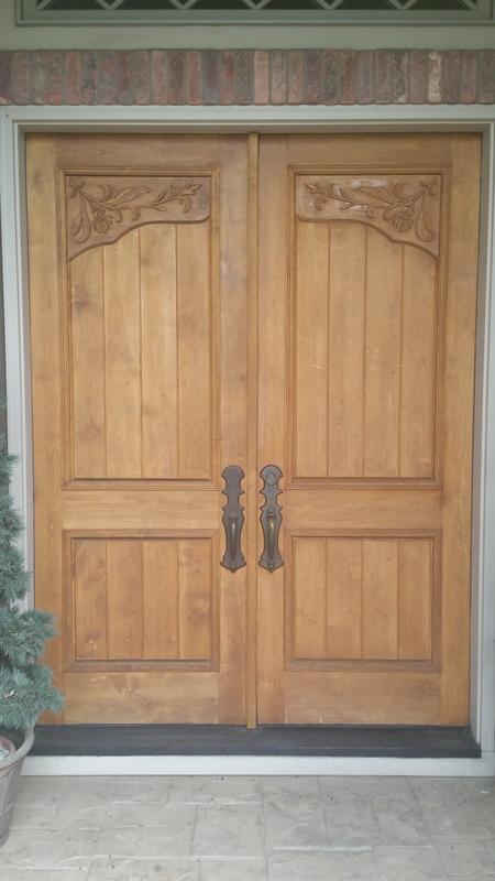 Entry Door Restoration Inthe Preserve Greenwood Village