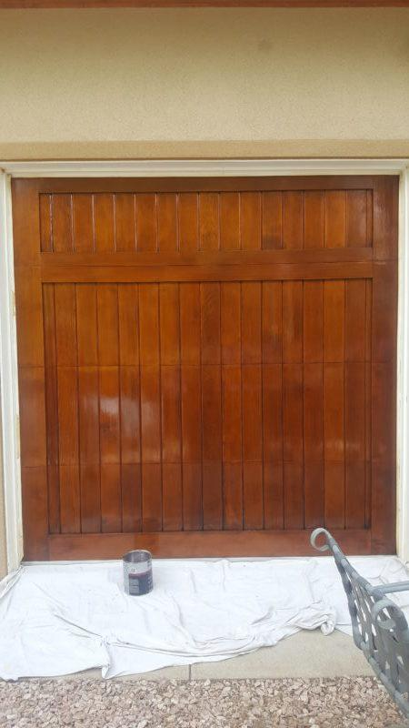 exterior painting service doors after