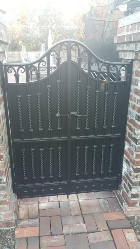 exterior house painting services large gate after