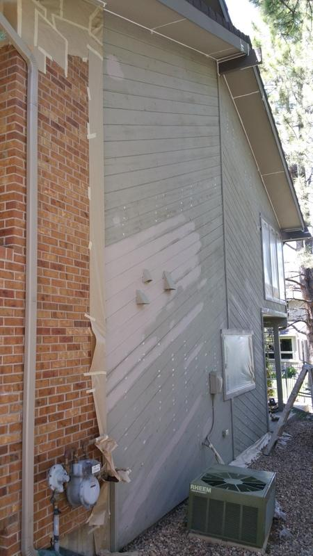 exterior painting service side mid production