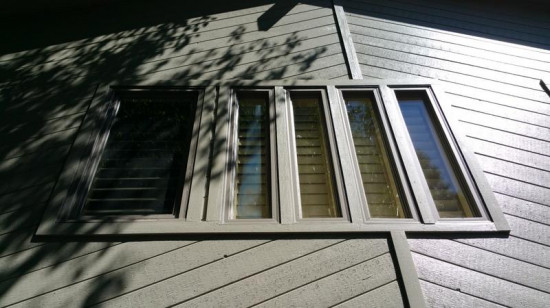 exterior painting service window after