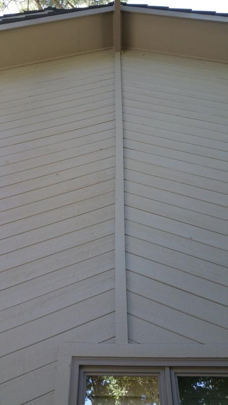 exterior painting service soffit after