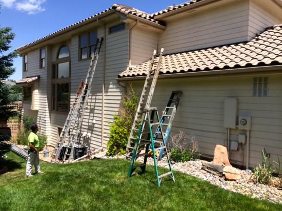 exterior house painters near me side mid production