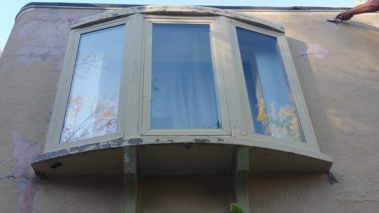 gutter repair and replacement services window before