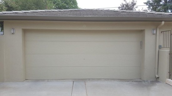 residential painting company garage after