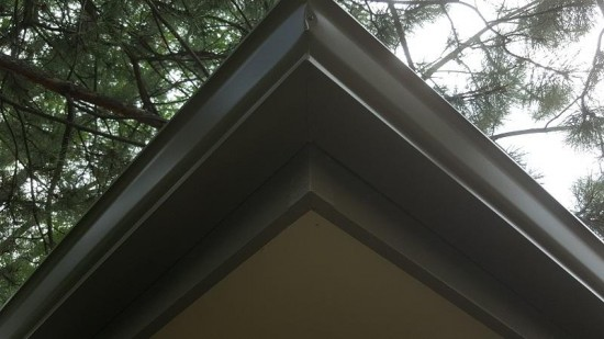 residential painting company gutters after