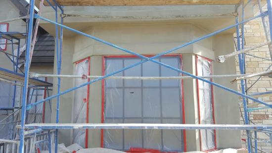 exterior house painting company scratch coat 2