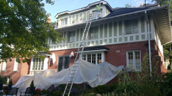 gutter replacement cost entry before