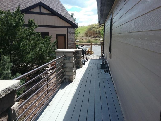 commercial painting company siding after