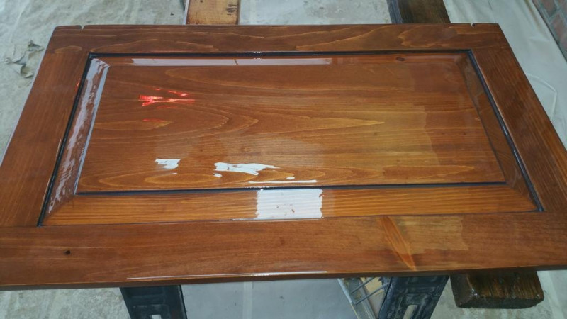 Cabinet Stain Restoration Project in Greenwood Village