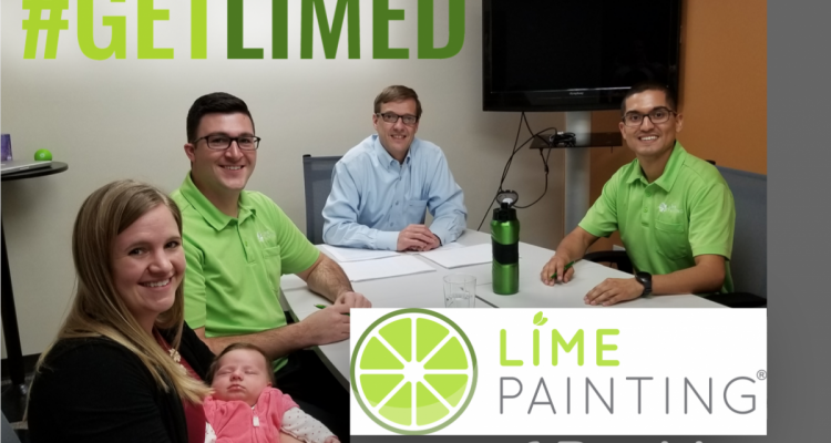 LIME Painting Awards Second Franchise Location to Key Employee!