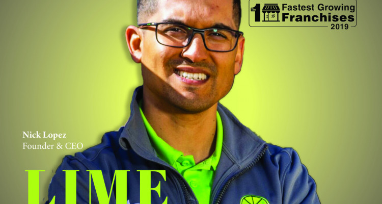 LIME Painting Featured as one of 10 Fastest Growing Franchises of 2019