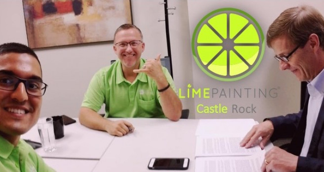 LIME Painting, the High-End Painting and Contracting Company, Awards Its First Franchise Location in Castle Rock to Savvy Salesman