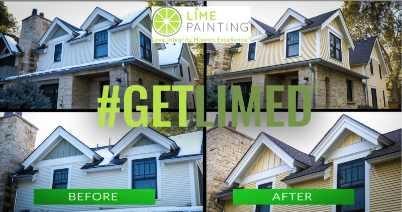 Extensive and Custom Exterior Boulder Painting & Contracting Project