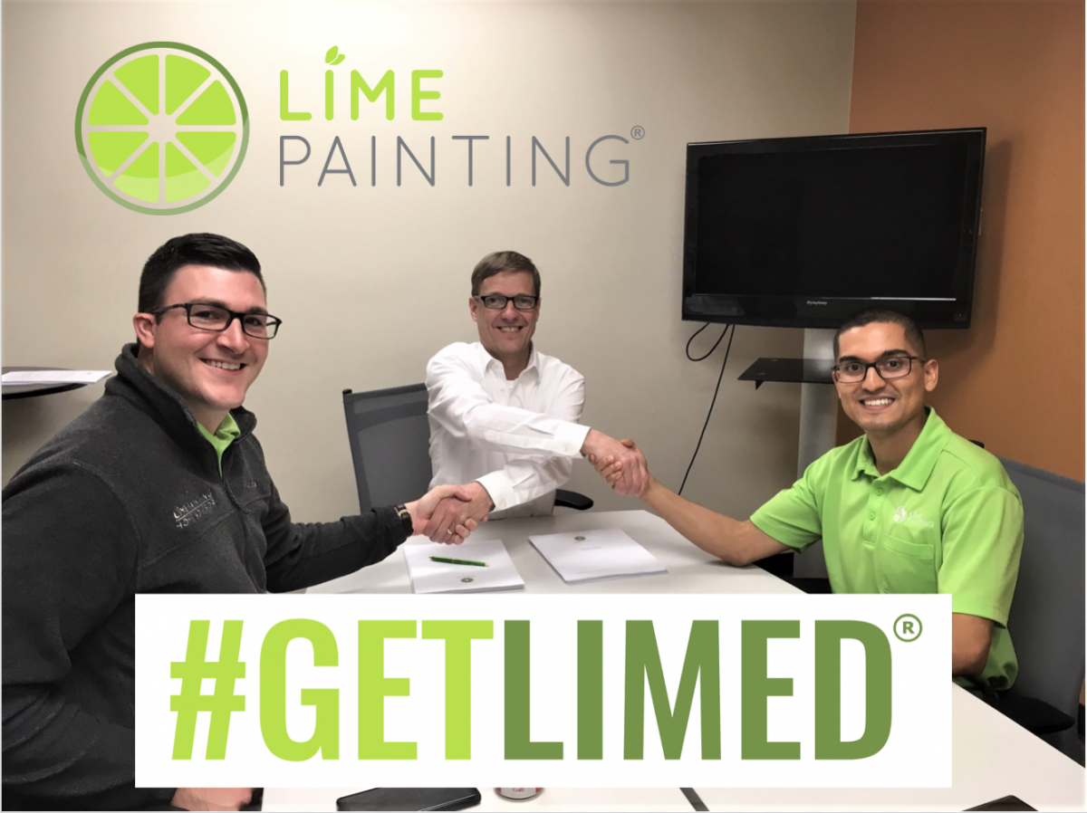 LIME Painting Awards Third Franchise Location to Ft. Collins Owner