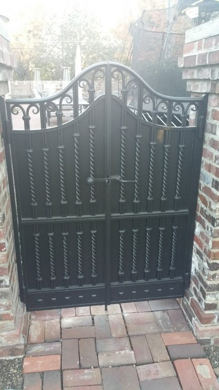 Metal Restoration Project in Denver Country Club