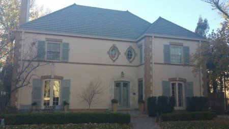 Stucco Restoration Project in Denver Country Club